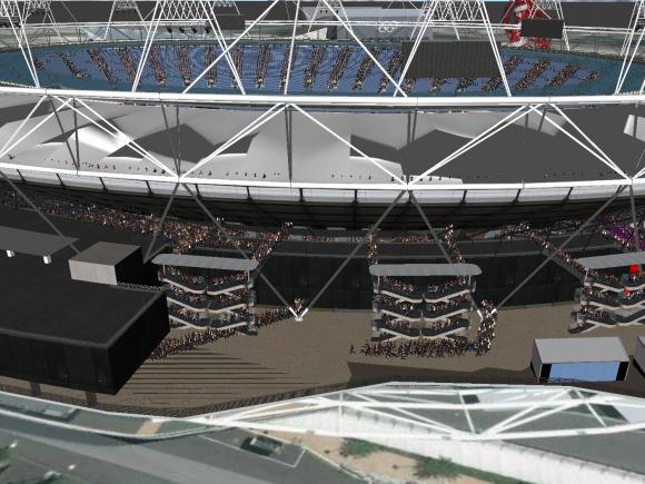 Stadium simulation